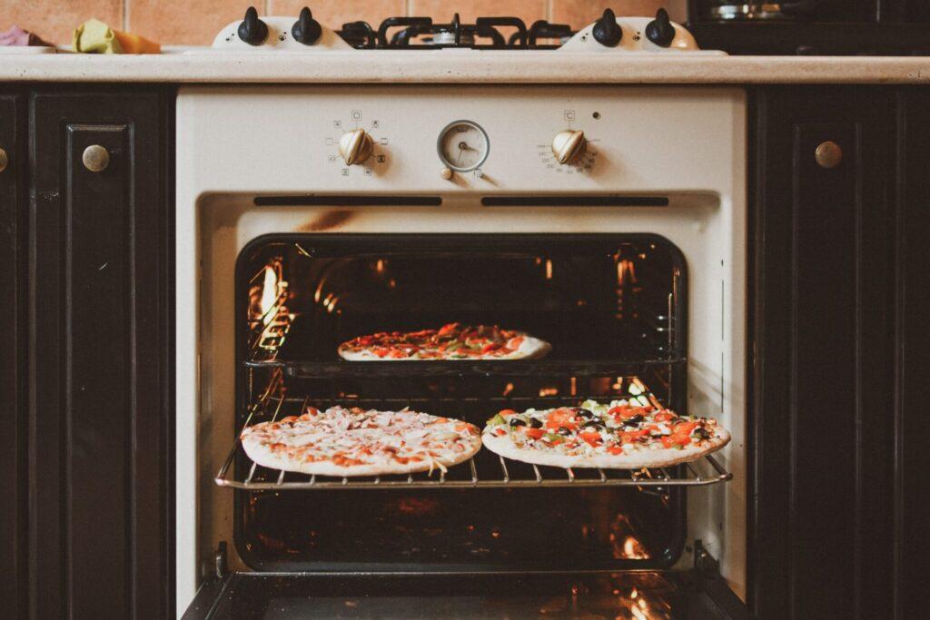 宅配ピザ冷凍解凍方法